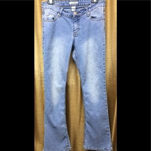 South Pole Light Wash Boot Cut Jeans